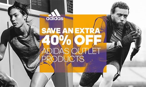 Adidas Outlet additional 40% off