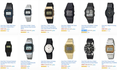 Casio Digital Watch Sale