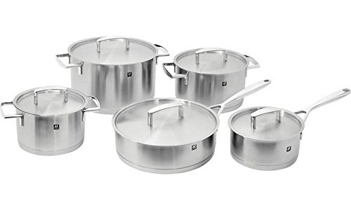 Zwilling J.A. Henckels Passion 10Pc Stainless Cookware Set
